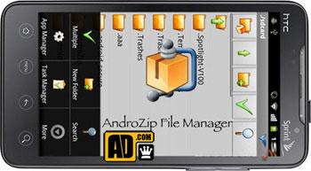 دانلود AndroZip Pro File Manager اندروید،نرم افزار زیپ اندروید