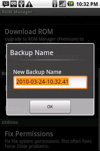 دانلود رام منیجر ROM Manager 5.0.2.0 برای گوشی های روت شده