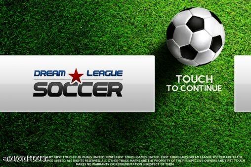 دانلود فوتبال برای اندروید Dream league Soccer دانلود بازی اندروید دانلود بازی فوتبال