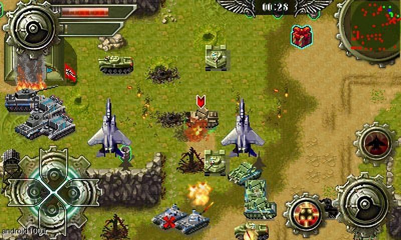 دانلود بازی دانلود بازی کلاسیک تانک ها Tank war HD برای اندرویدبهترین بازی های با کیفیت HD برای اندروید