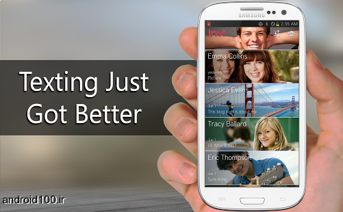 دانلود invi Messenger and SMS 0.9.6 مسنجر و پیام رسان قدرتمند اندروید